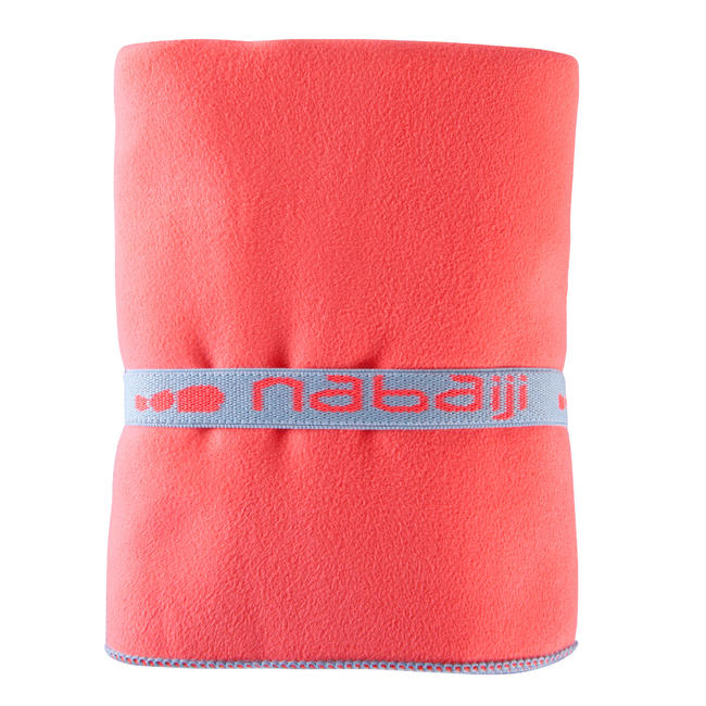 Microfiber Towel Size L 80 x 130 cm - Orange