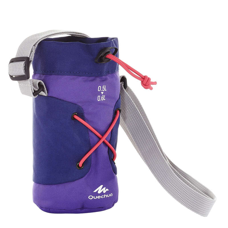 HIKING BOTTLES Camping - Isothermal Cover 0.6L - Purple QUECHUA - Camping Cooking Equipment