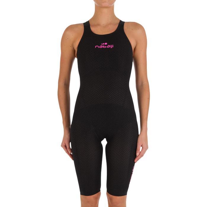 Combinaison de natation femme O JET PU NOIR - 718108