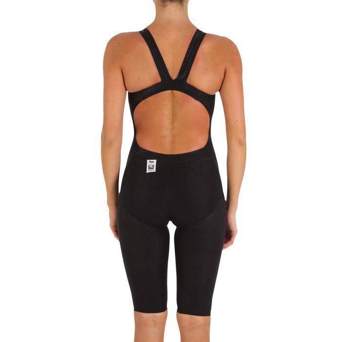 Combinaison de natation femme O JET PU NOIR - 718110