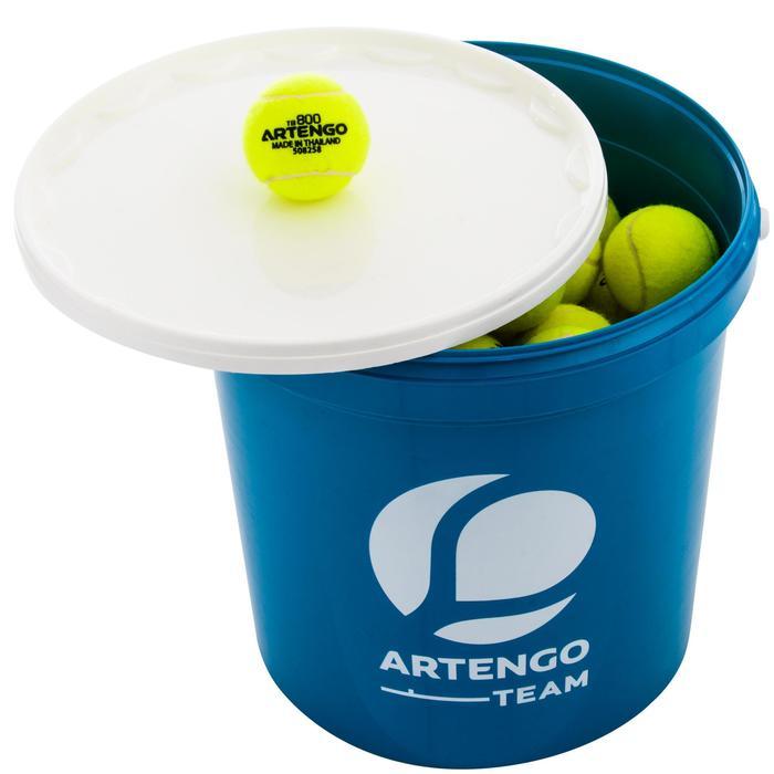 Ballenemmer voor 80 tennisballen