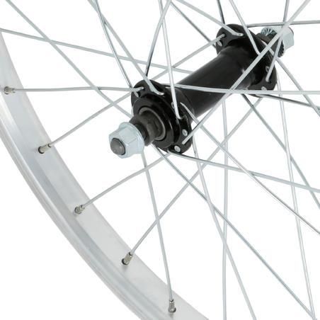 """Переднє колесо для дитячого велосипеда 20"""" - Срібне"""