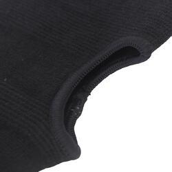 Paar binnenhandschoenen katoen zwart - 718815