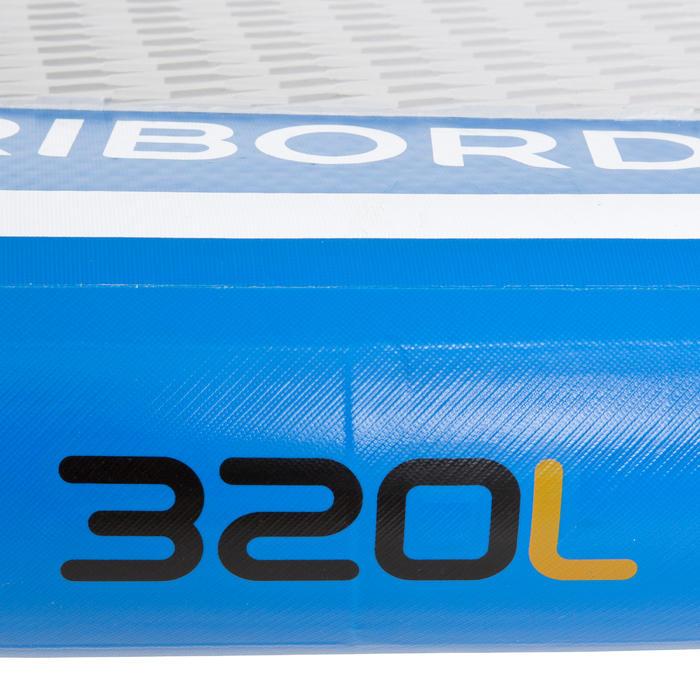 Planche à voile gonflable 320L adaptée à l'apprentissage du windsurf. - 718905