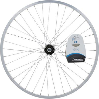 Заднє колесо для дитячого велосипеда 24_QUOTE_ - Срібне