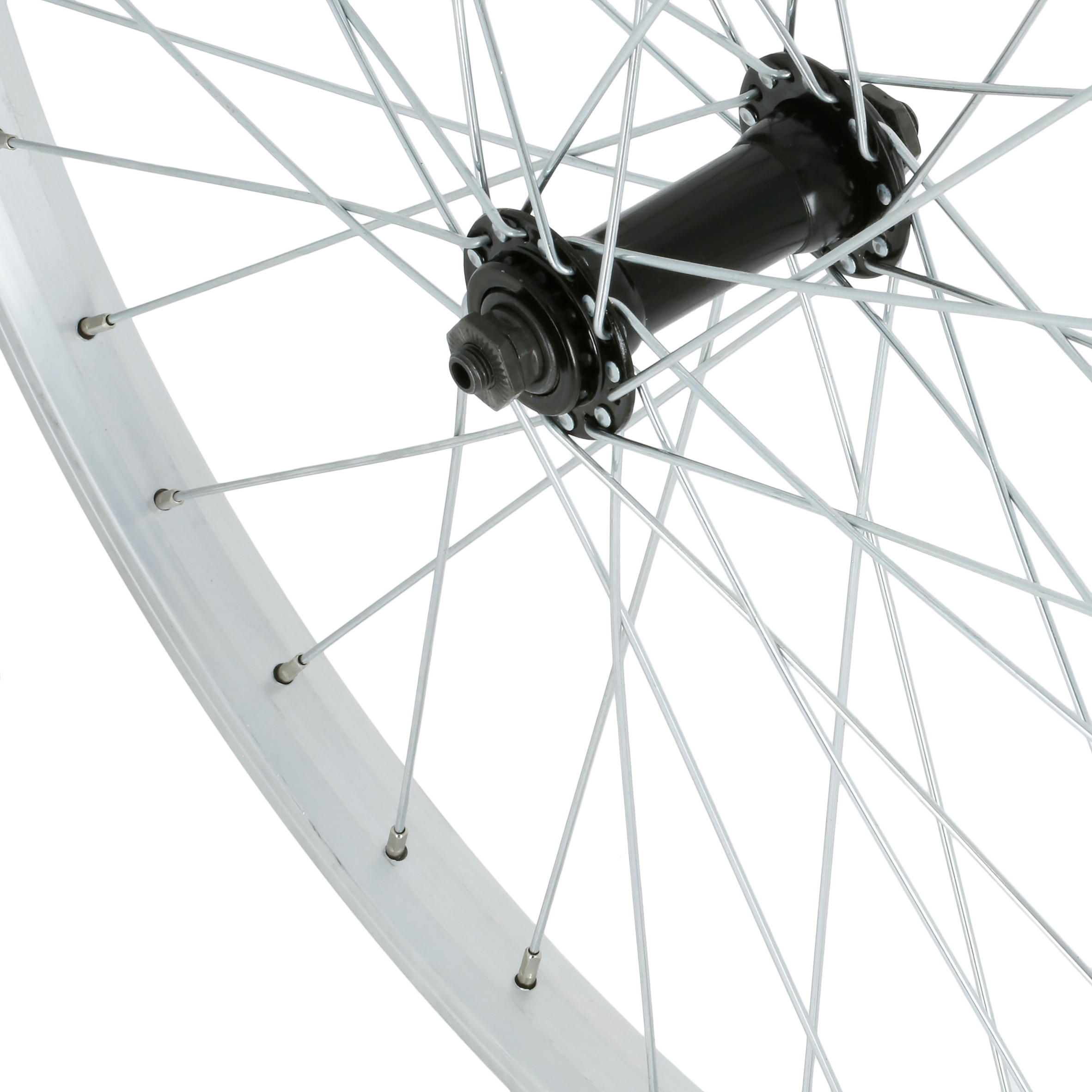 Kids' 24_QUOTE_ Front Wheel - Silver