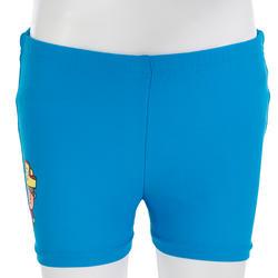 Wasbare blauwe zwemboxer om verspreiding van ontlasting te voorkomen in water - 719770