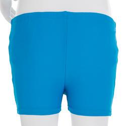 Blue baby boy's washable swim boxer shorts