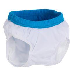 Wasbare blauwe zwemboxer om verspreiding van ontlasting te voorkomen in water - 719775