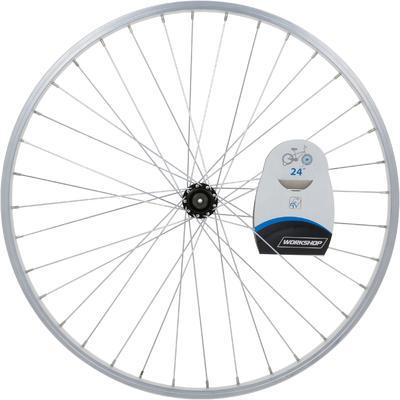 """Переднє колесо для дитячого велосипеда 24"""" - Срібне"""