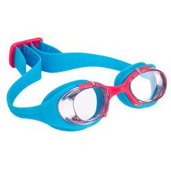 Complete zwemset Leony+ voor meisjes blauw/roze - 719829