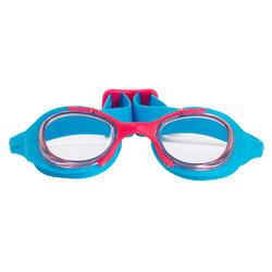 Complete zwemset Leony+ voor meisjes blauw/roze - 719830
