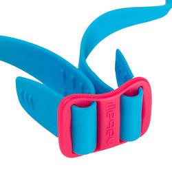 Complete zwemset Leony+ voor meisjes blauw/roze - 719834