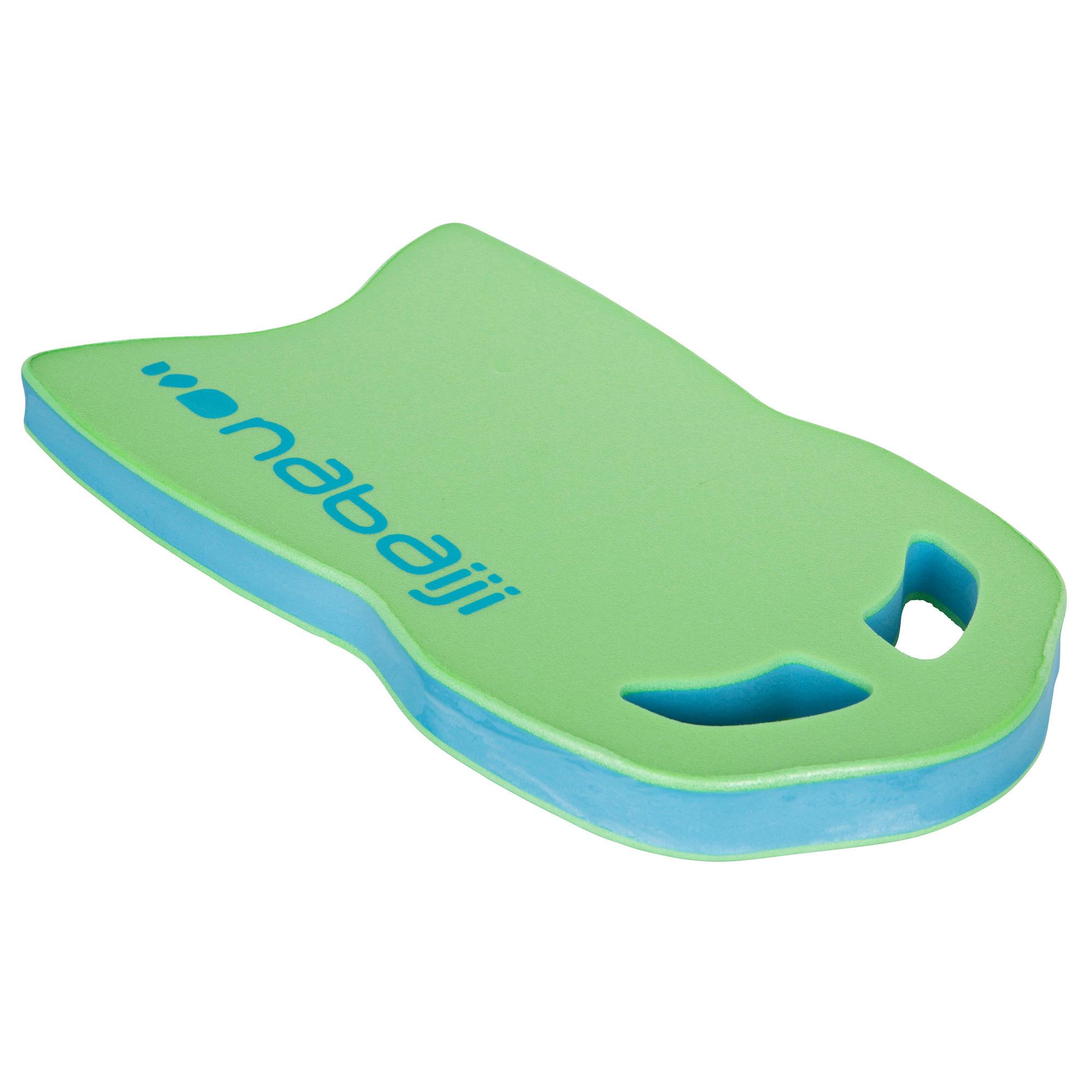 Grande planche a battements natation vert bleu nabaiji for Protege oreille piscine decathlon