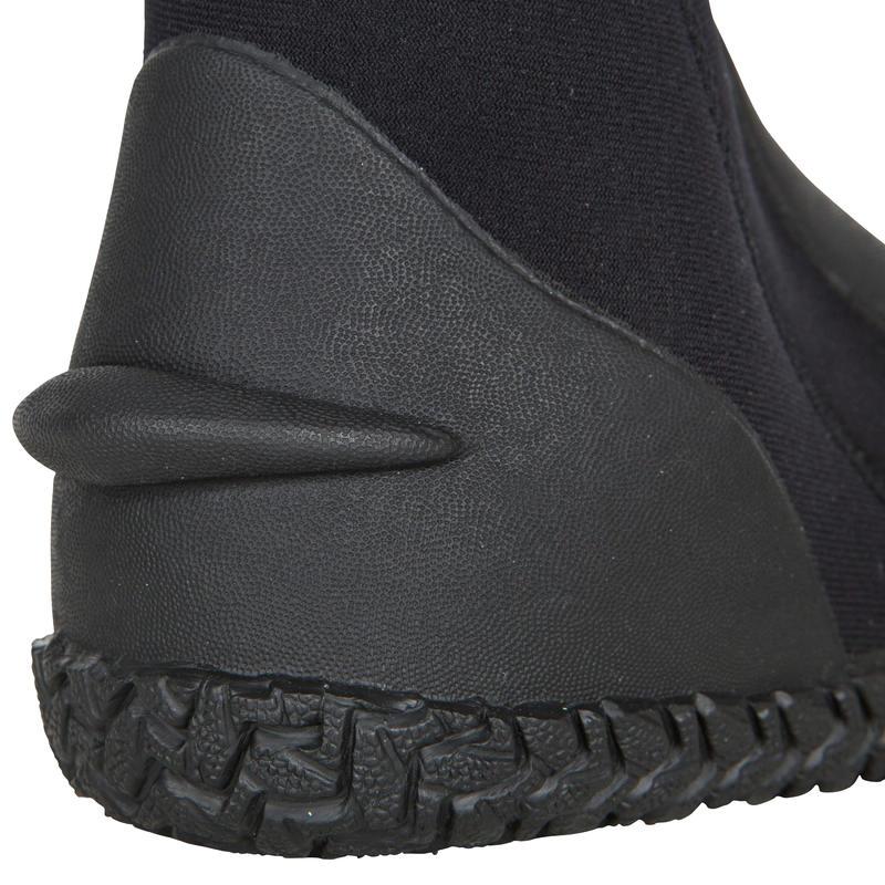 รองเท้าบูตนีโอพรีนสำหรับดำน้ำลึกรุ่น SCD 3 มม.