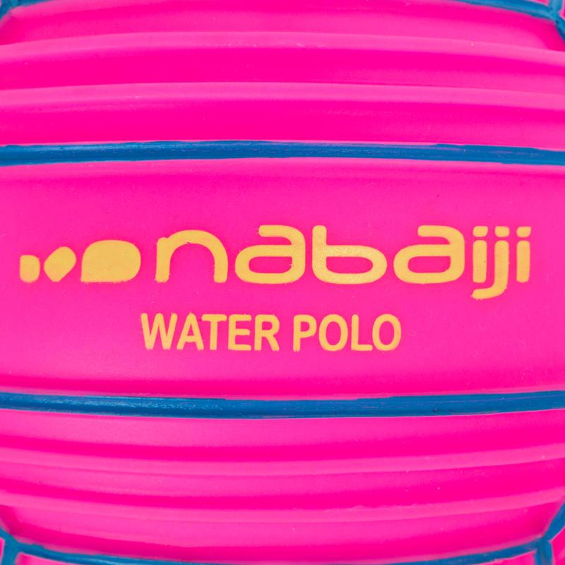 Pelota pequeña piscina adherente rosada