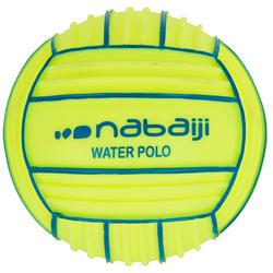 Yellow small pool ball