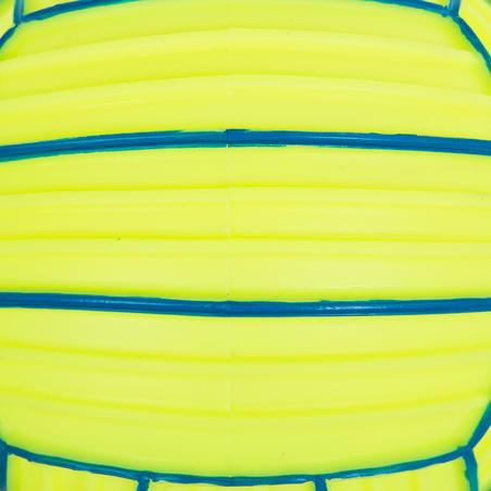Pelota pequeña para alberca adherente amarillo