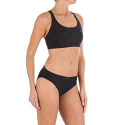 Zwemslip voor dames Leony zwart - 720806