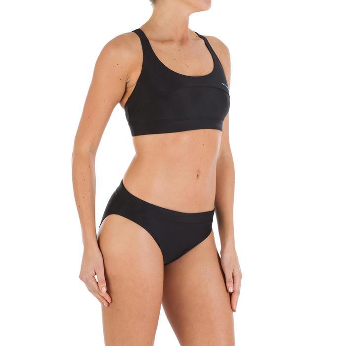 Bas de maillot de bain femme culotte Leony noir - 720806