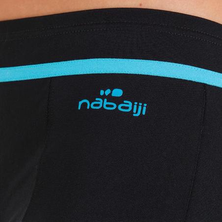 Dary women's aquafitness swimsuit shorts bottoms - blue black