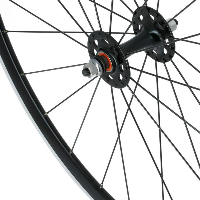 Vorderrad Fixie / Rennräder schwarz