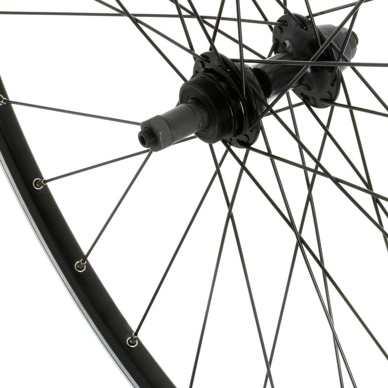 700 Bolt-On Road Bike Rear Wheel - Black