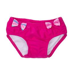 Wasbaar zwemluierbroekje roze