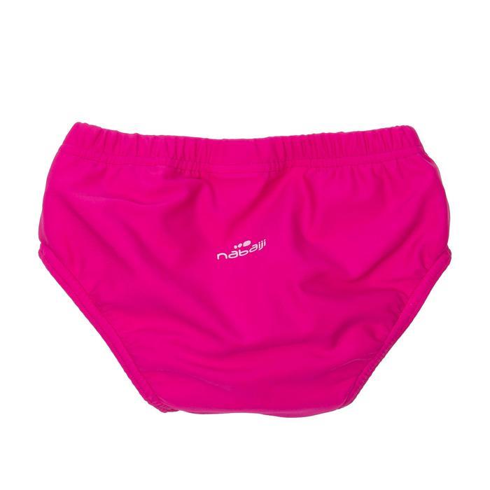 Culotte de bain lavable rose bébé fille - 721417