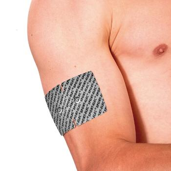 4 electrodos sin cable SPORTELEC para electroestimulador de musculación