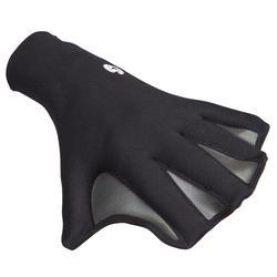 Zwemhandschoenen voor bodyboard