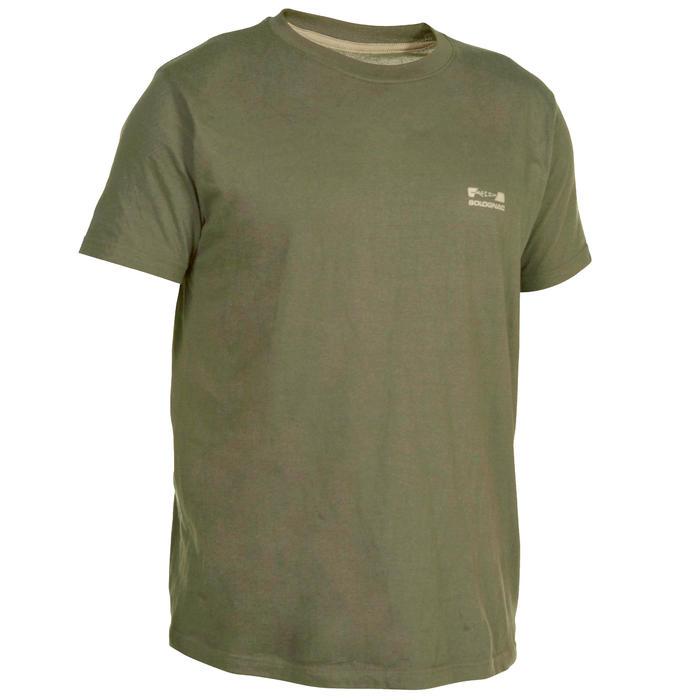 Tee shirt steppe 100  manches courtes - 72232