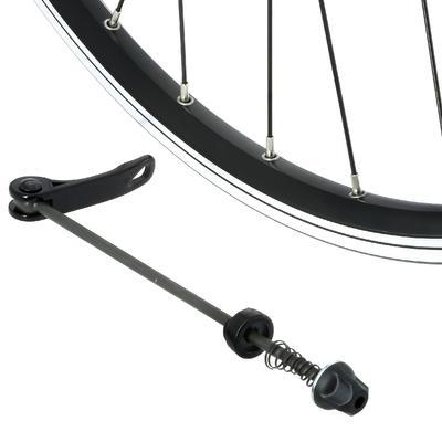 "Rear Wheel 28"" Double Wall Rim V-Brake Quick Release Hybrid Bike - Black"