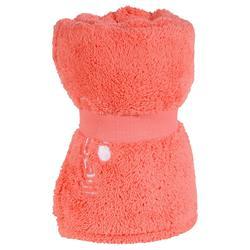 Superzachte microvezel handdoek granatina maat L 80 x 130 cm