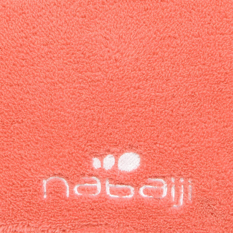 Microfibre towel soft size L 80 x 130 cm - Orange