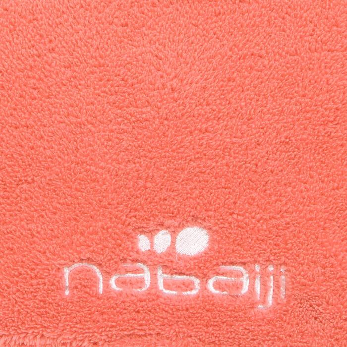 Serviette microfibre douce orange taille L 80 x 130 cm