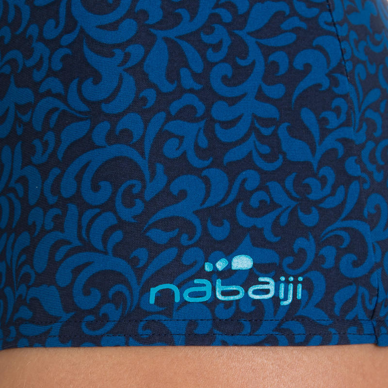 Loran Shortcut women's one-piece swimsuit - Bari Blue