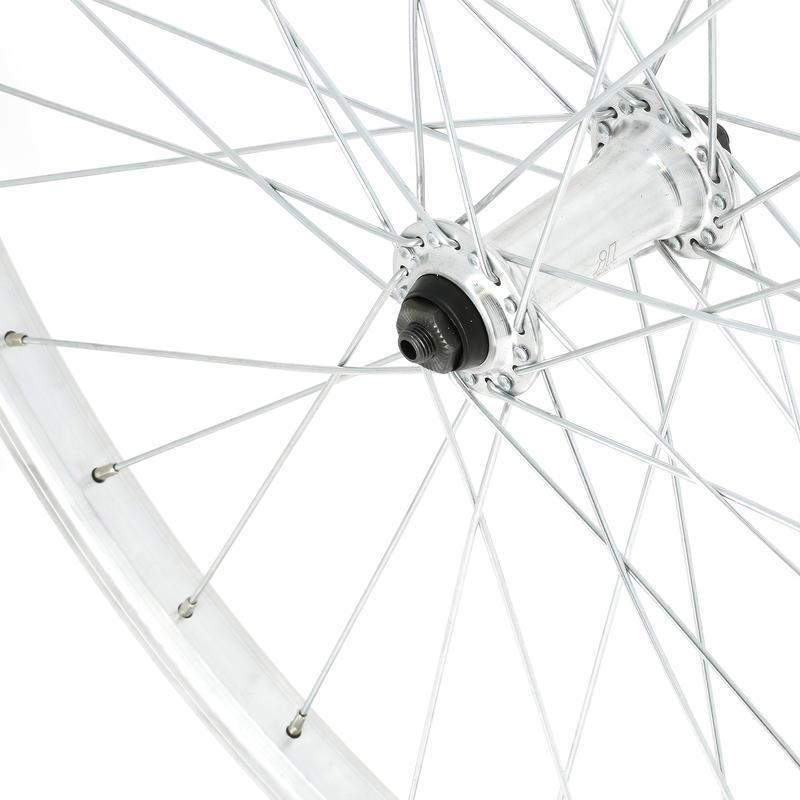 Mountain Bike Wheel 26_QUOTE_ Front Single-Wall V-Brake - Silver