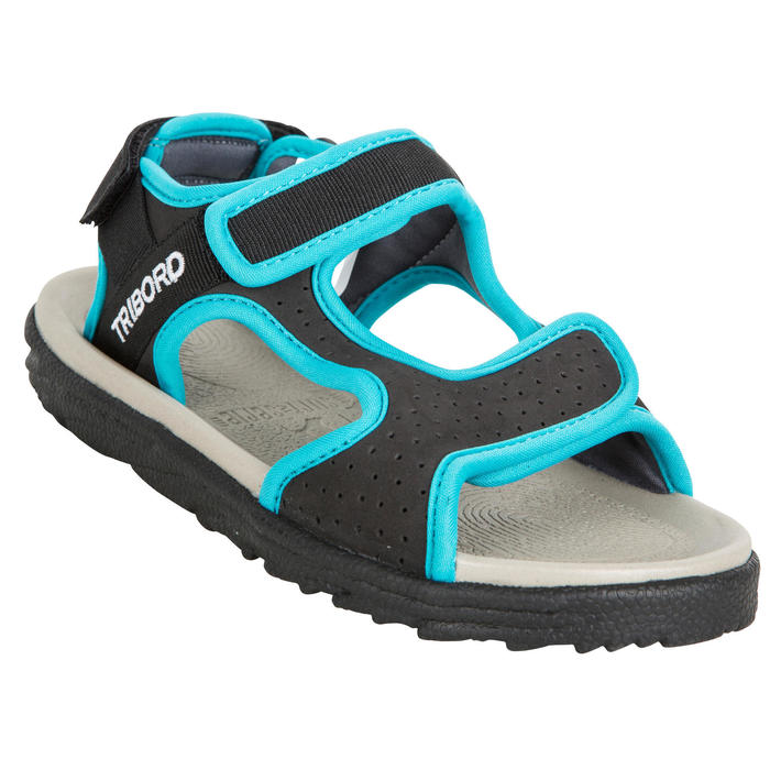 Kindersandalen S 500 zwart blauw