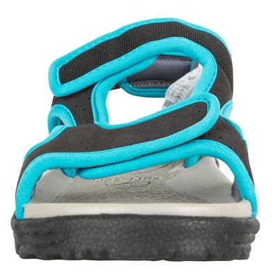 סנדלים לילדים 500 S שחור כחול