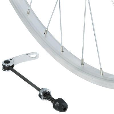 Переднє колесо для гібридного велосипеда 28_QUOTE_ - Срібне