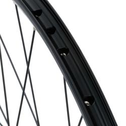 "RUEDA BTT 26"" DISCO NEGRA TRASERA DOBLE PARED"