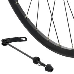 Roue vélo enfant 24 pouces arrière double paroi disque cassette noir