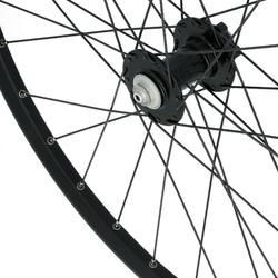 "RUEDA BTT 26"" DISCO NEGRA DELANTERA DOBLE PARED"