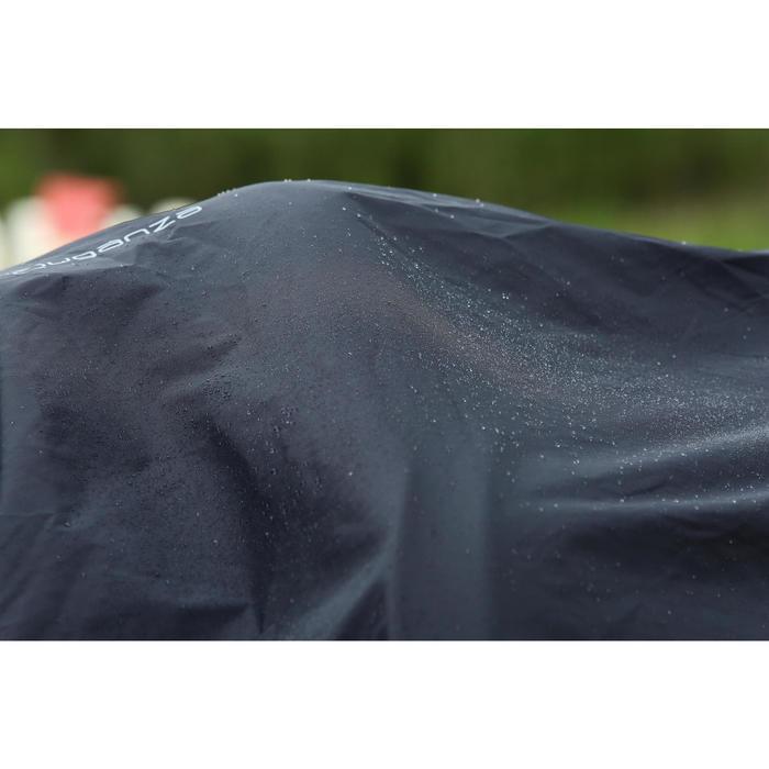 Chemise imperméable équitation poney et cheval PROTECT'RAIN noir - 725850