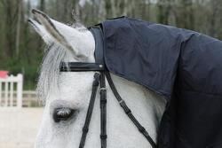 Waterdicht paardendeken Protect'Rain ruitersport paard en pony zwart - 725853