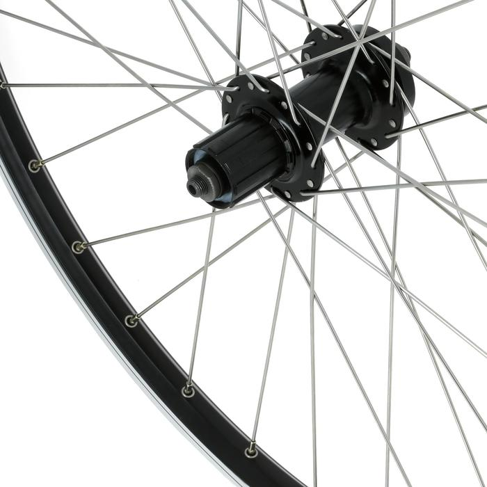 "Hinterrad MTB 26"" Disc/V-Brake schwarz"