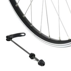 "RUEDA BTT 26"" DISCO / V-BRAKE NEGRA TRASERA PARED DOBLE"