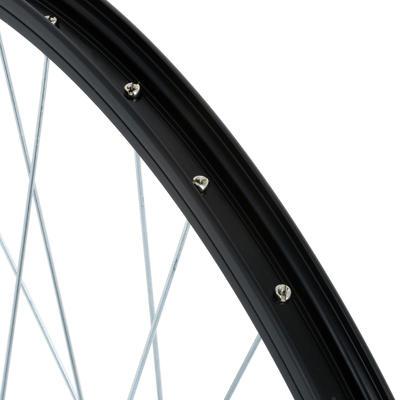 """גלגל קדמי אופני הרים 26"""" -שחור"""
