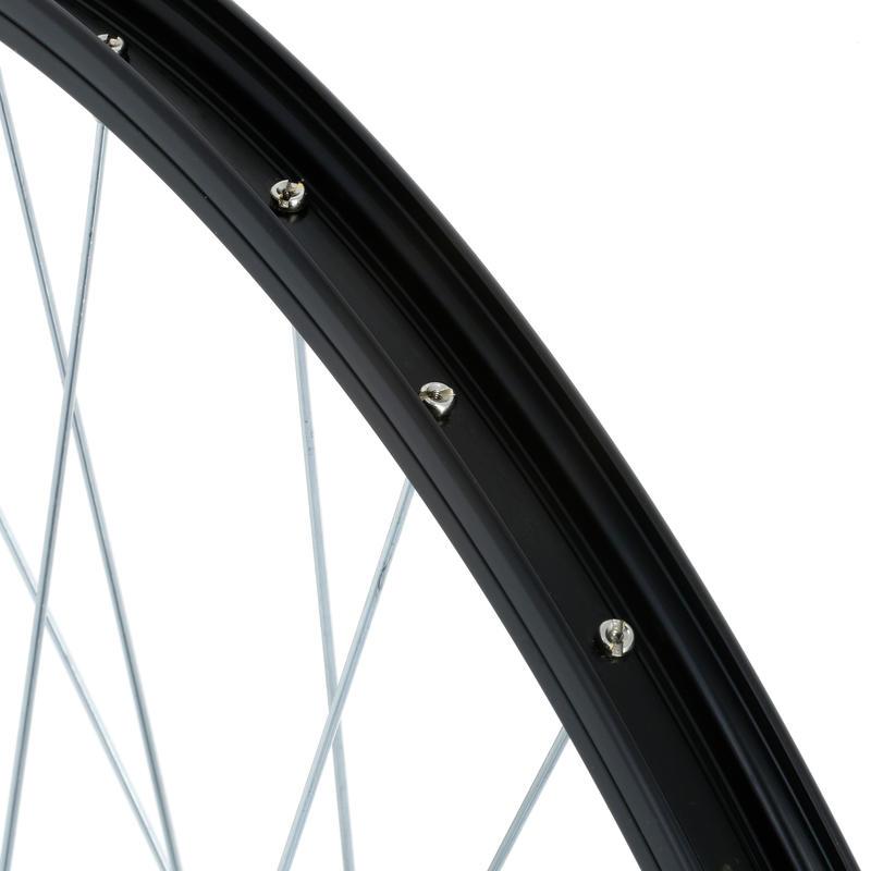 "26"" MTB Front Wheel - Black"